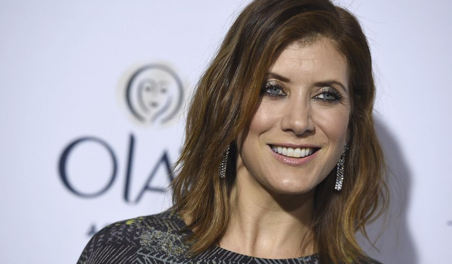 FILE - In this Jan. 20, 2016, file photo, Kate Walsh arrives at ELLE's 6th annual Women in Television celebration at the Sunset Tower Hotel in Los Angeles. Walsh told Cosmopolitan for an interview published online Sept. 18, 2017, that she is fully recovered after having a benign brain tumor removed two years ago. (Photo by Jordan Strauss/Invision/AP, File)