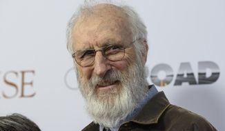 "FILE- In this April 18, 2017, file photo, James Cromwell attends the special screening of ""The Promise"" at The Paris Theatre in New York. Cromwell has been charged with trespassing for interrupting and denouncing an Orca show at SeaWorld in San Diego. The San Diego Union-Tribune reported Monday, Sept. 18, that the misdemeanor charge could mean 90 days in jail or a fine up to $400. (Photo by Christopher Smith/Invision/AP, File)"