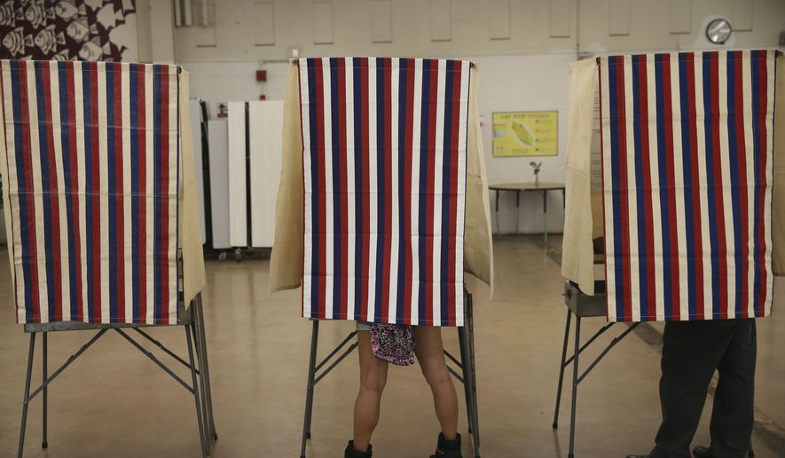 While President Trump's claims of millions of fraudulent votes have not been substantiated, Philadelphia's data shows fraudulent voting happens — contradicting claims by voting rights activists that it is so rare as to not be worth investigating.  (AP Photo/Marco Garcia)