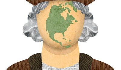 Courage and Vision of Columbus Illustration by Greg Groesch/The Washington Times
