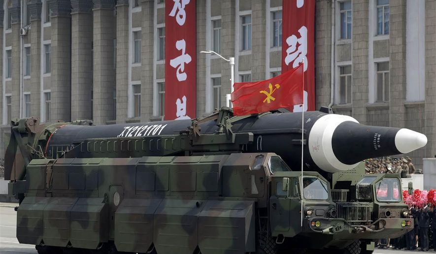 North Korea's latest missile test involved the firing of a road-mobile intermediate-range ballistic missile (IRBM) dubbed the Hwasong-12.