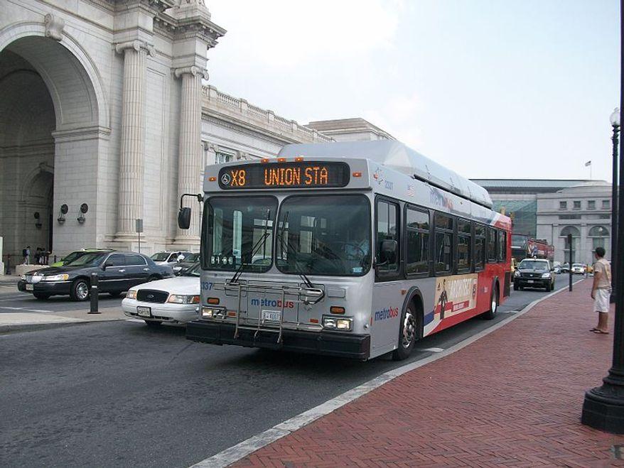 Metrobus. ** FILE **