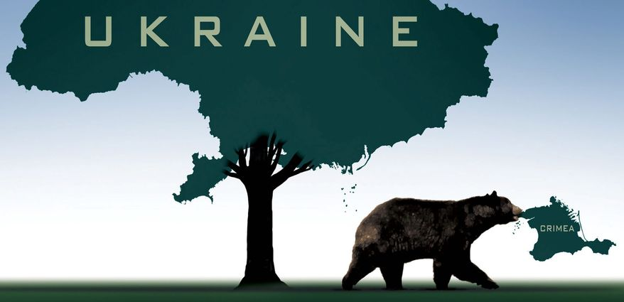 Illustration on Russia's attacks on Ukraine by M. Ryder/Tribune Content Agency