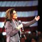 Former Gov. Sarah Palin will appear at the Mom's March for America on Saturday in Omaha, Nebraska, to promote traditional values. (ASSOCIATED PRESS)