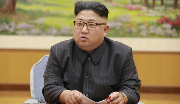 """North Korean leader Kim Jong-un is calling President Trump """"deranged."""" Responding to Mr. Trump's combative speech at the U.N. General Assembly on Tuesday, Mr. Kim said in a statement carried by the state news agency that he will """"pay dearly"""" for his threats. (Associated Press)"""