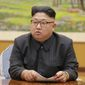 "North Korean leader Kim Jong-un is calling President Trump ""deranged."" Responding to Mr. Trump's combative speech at the U.N. General Assembly on Tuesday, Mr. Kim said in a statement carried by the state news agency that he will ""pay dearly"" for his threats. (Associated Press)"