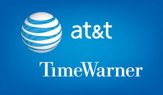 AT&T and Time Warner want to merge.