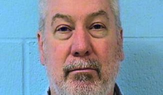 This undated file photo provided by the Illinois Department of Corrections shows former Bolingbrook, Ill., police officer Drew Peterson. The Illinois Supreme Court ruled Thursday, Sept. 21, 2017, that the use of hearsay testimony to convict Peterson in the death of his third wife was proper in upholding his conviction. The high court, in a unanimous decision, found that hearsay testimony from Peterson's missing fourth wife did not violate his constitutional right to confront his accusers. (Illinois Department of Corrections via AP, File)