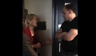 Sen. Elizabeth Warren was forced to defend her wealth despite her frequent attacks on the rich after she was confronted by WRKO radio host Jeff Kuhner earlier this week. (WRKO)