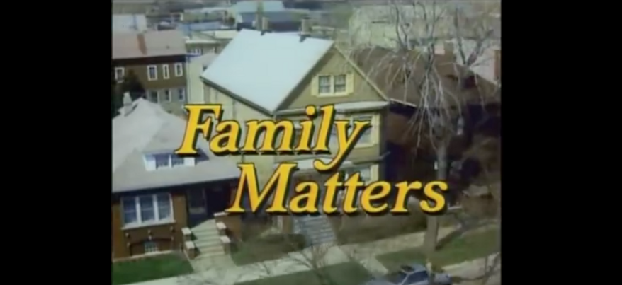 "Screen capture from video of the opening credits for the 1990s sitcom ""Family Matters."" On Sept. 21, 2017, DNAInfo.com reported that the Chicago house made famous by the show would be demolished to make room for a new apartment unit."