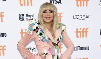 "In this Sept. 8, 2017, file photo, Lady Gaga attends a premiere for ""Gaga: Five Foot Two"" at the Toronto International Film Festival in Toronto. Gaga penned an emotional note to fans posted to Twitter on Sept. 21, 2017, a day before her documentary began streaming on Netflix. (Photo by Evan Agostini/Invision/AP, File)"