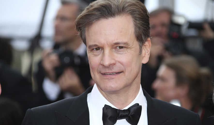 """FILE -  In this Monday, May 16, 2016 file photo, actor Colin Firth poses for photographers upon arrival at the screening of the film Loving at the 69th international film festival, Cannes, southern France. British actor Colin Firth says he has taken Italian citizenship as a """"sensible"""" move amid global political uncertainty. Firth, who is married to environmentalist Livia Giuggioli, says he has become a dual U.K.-Italian citizen, and his wife is applying for British nationality. Their two sons already have dual citizenship.  (AP Photo/Joel Ryan, File)"""