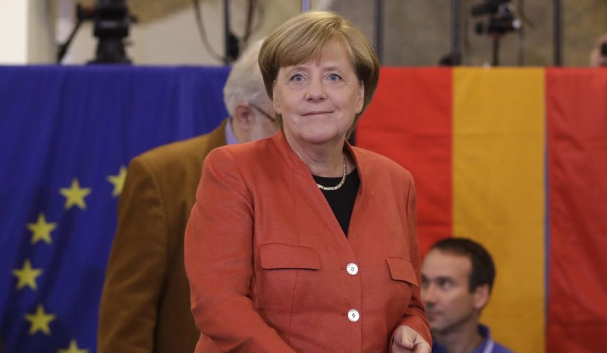 German Chancellor Angela Merkel now must piece together a coalition of widely disparate parties that can propel her Eurocentric, economy-driven mandate. (Associated Press/File)