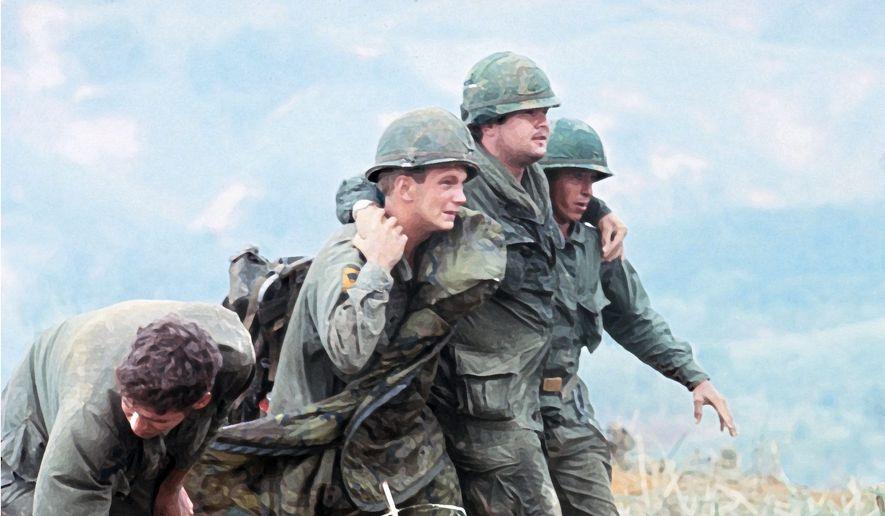 Illustration on the Vietnam War     The Washington Times