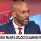 "CNN analyst Keith Boykin called President Donald Trump a ""white supremacist"" during his Sept. 25, 2017, appearance on ""At This Hour With Kate Bouldan."" (Image: CNN screenshot)"