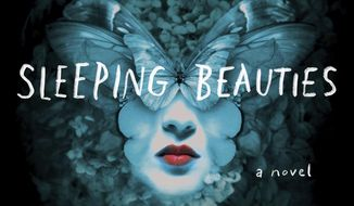 "This cover image released by Scribner shows ""Sleeping Beauties,"" a novel by Stephen King and Owen King. (Scribner via AP)"