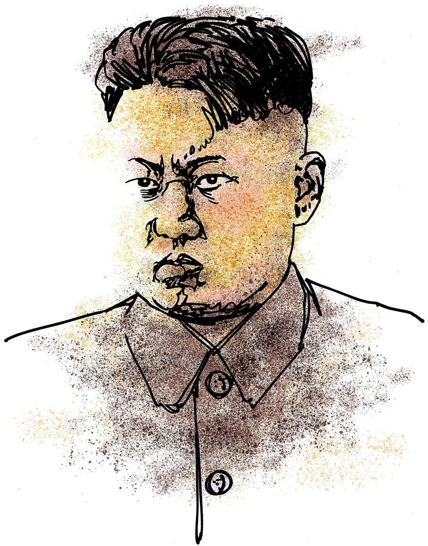 Kim Jong-un Illustration by Greg Groesch/The Washington Times