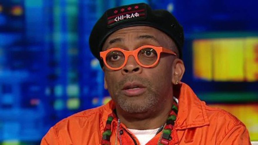"""I'm worried just as much Donald Trump as that crazy guy in North Korea. And he has the nuclear codes. I'm worried about that,"" filmmaker Spike Lee."