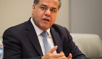 Falah Mustafa Bakir, head of the Kurdistan Regional Government's foreign relations department (ASSOCIATED PRESS)