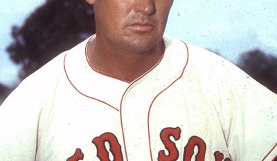 1. Ted Williams (1939-1960) was a nineteen-time All-Star, a two-time American League MVP, a six-time AL batting champion, and a two-time Triple Crown winner. He finished his playing career with a .344 batting average, 521 home runs, and a 0.482 on-base percentage, the highest of all time. His batting average is the highest of any MLB player with 302 or more home runs. Joining the Red Sox in 1939, he immediately emerged as one of the sport's best hitters. In 1941, Williams posted a .406 batting average, making him the last MLB player to bat over .400 in a season. He followed this up by winning his first Triple Crown in 1942. Williams interrupted his baseball career in 1943 to serve three years in the US Navy and US Marine Corps during World War II. Upon returning to MLB in 1946, Williams won his first AL MVP and played in his only World Series. In 1947, he won his second Triple Crown. In 1957 and 1958 at the ages of 39 and 40, respectively, he was the AL batting champion for the fifth and sixth time. Williams retired from playing in 1960. He was inducted into the Baseball Hall of Fame in 1966, in his first year of eligibility