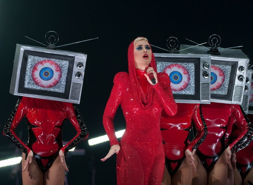 Katy Perry performs at Capitol One Arena in Washington, D.C., Monday, Sept. 25, 2017.  (Erica Bruce/Special to The Washington Times)