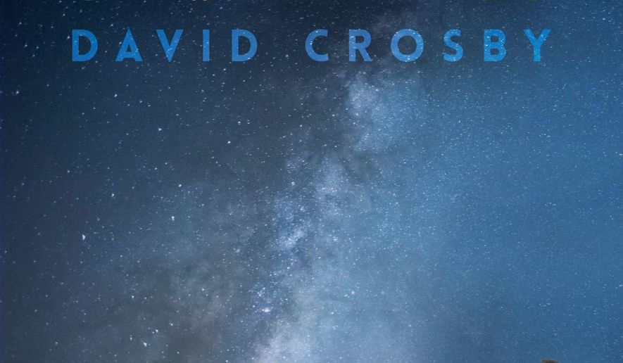 """This cover image released by BMG shows """"Sky Trails,"""" the latest release by David Crosby. (BMG via AP)"""