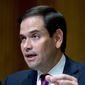 Sen. Marco Rubio, Florida Republican. (Associated Press) ** FILE **