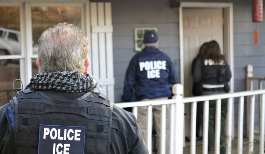 U.S. Immigration and Customs Enforcement was among the most embattled agencies in the previous administration, with deportation officers saying they signed up to enforce immigration laws only to have Obama officials put severe restrictions on when and how they could carry out their duties. (Associated Press/File)