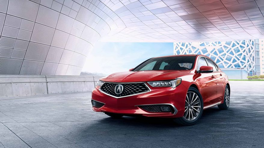 For a joy ride or the daily grind of getting to work and home, the 2018 Acura TLX makes the driving experience fun. (Courtesy of Acura).
