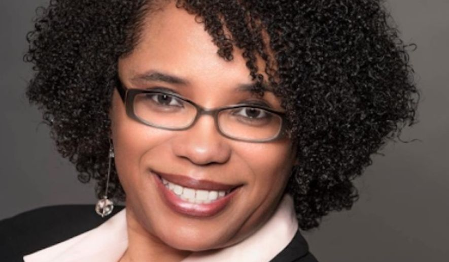 """School District U46 board member Traci O'Neal Ellis said she isn't backing down from comments she made on Facebook equating the American flag with toilet paper, saying the flag is a meaningless piece of cloth and """"a false symbol of hope"""" for black people. (Facebook/@Traci O'Neal Ellis, U-46 School Board Member)"""