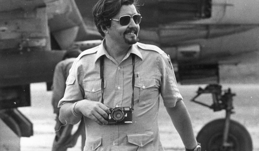 FILE - This October 1970 file photo shows Richard Pyle. Pyle, an Associated Press reporter whose career spanned a half-century of war, catastrophe and other indelible stories has died in New York, Thursday, Sept. 28, 2017. Richard Pyle was 83. (AP Photo/File)