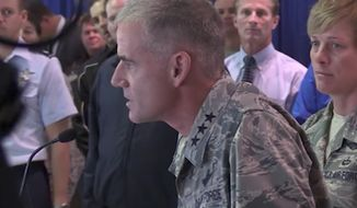 Lt. Gen. Jay Silveria, the superintendent of the United States Air Force Academy, gave a stern warning to cadets and cadet candidates on Thursday after racial slurs were discovered at the Preparatory School. (YouTube/@USAFAOfficial)