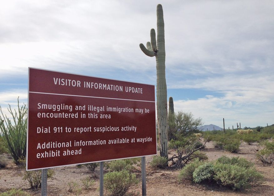 enforcement: Drug traffickers were once so prevalent in Organ Pipe Cactus National Monument that visits were limited. Now all 516 square miles of its sweeping mountains and cactus-covered terrain is fully accessible. (Associated Press)