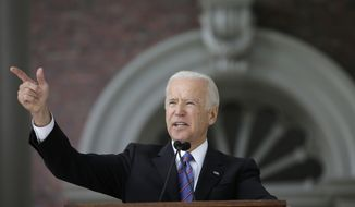 Former Vice President Joe Biden appears to be remaking his image as an attack dog, with his ire directed at President Trump. (Associated Press)