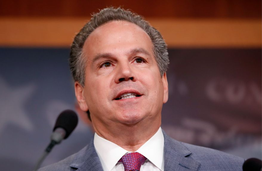"""Enough is enough. Republicans in Congress have given Donald Trump and his administration a blank check to do whatever they want,"" said Rep. David Cicilline, Rhode Island Democrat. He argues taxpayers should be repaid for the travel costs."