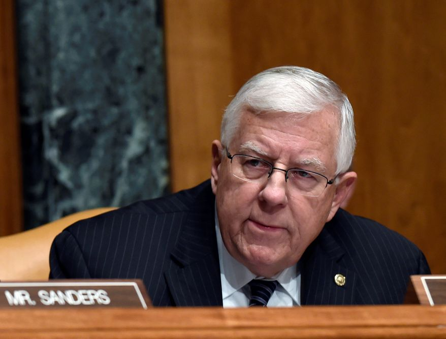 Senate Budget Committee chairman Sen. Michael Enzi's budget proposal was crafted with tax reform in mind. (Associated Press)