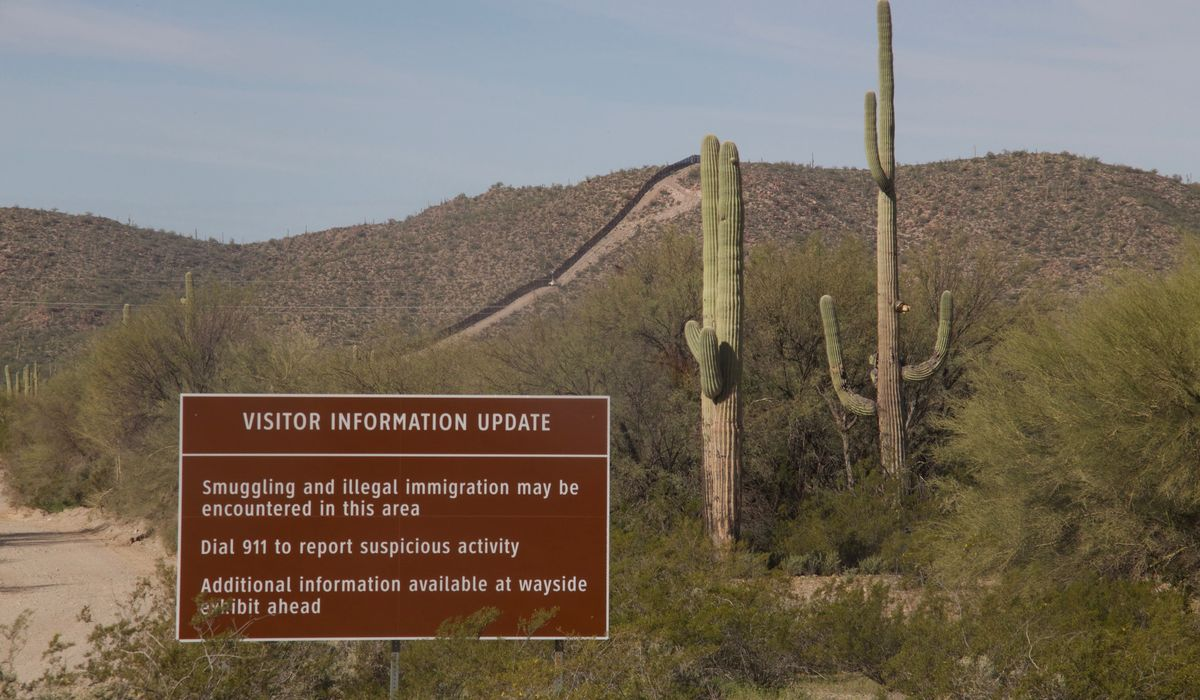 Successful border enforcement saves habitat, visitor security on National Park Service land