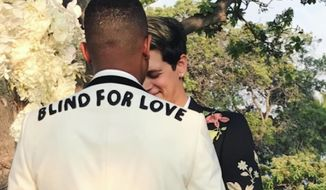 """Milo Yiannopoulos, an openly gay, politically conservative provocateur who is often described by his critics as the face of the alt-right movement, married his black boyfriend in Hawaii over the weekend, declaring himself the """"worst white supremacist ever."""" (Instagram/@milo.yiannopoulos)"""
