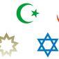 Religion symbols (SPONSORED)