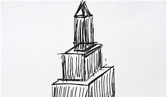 A Simple 199039s Era Drawing By Donald Trump Could Fetch 12000