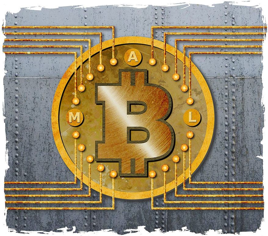 New Improved Bitcoin Illustration by Greg Groesch/The Washington Times