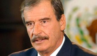 """Mexico's former President Vicente Fox tweeted on Oct. 2, 2017, that """"#GunControl is a topic that must be dealt with ASAP"""" in America. (Twitter: Vicente Fox)"""