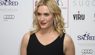 """FILE - In this Jan. 17, 2016 file photo, Kate Winslet poses for photographers at the Critics Circle Awards at a central London venue, London. Winslet has joined the """"Avatar"""" franchise which will reunite the actress with her """"Titanic"""" director James Cameron. A spokesperson for 20th Century Fox confirmed the news Tuesday, Oct. 3, 2017. (Photo by Jonathan Short/Invision/AP, File)"""