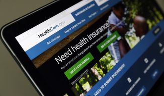 Many customers use HealthCare.gov as a starting point before they are directed to state-run portals, so those marketplaces are worried about a downstream impact on their own enrollment. (Associated Press/File)