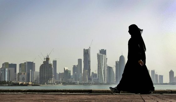 Qatar, which hosts Washington's most strategic military base in the Persian Gulf and sits atop some of the word's largest proven natural gas reserves, is the target of an economic and diplomatic blockade from Saudi Arabia, Egypt, Bahrain and the United Arab Emirates. (Associated Press/File)