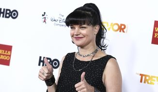 In this Dec. 6, 2015, file photo, Pauley Perrette attends 2015 TrevorLIVE LA held at the Hollywood Palladium in Los Angeles. Perrette confirmed reports of her departure from the program on Oct. 4, 2017, saying she'll be leaving the show after its current season. (Photo by John Salangsang/Invision/AP, File)