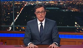 CBS Late Show host Stephen Colbert (CBS) ** FILE **
