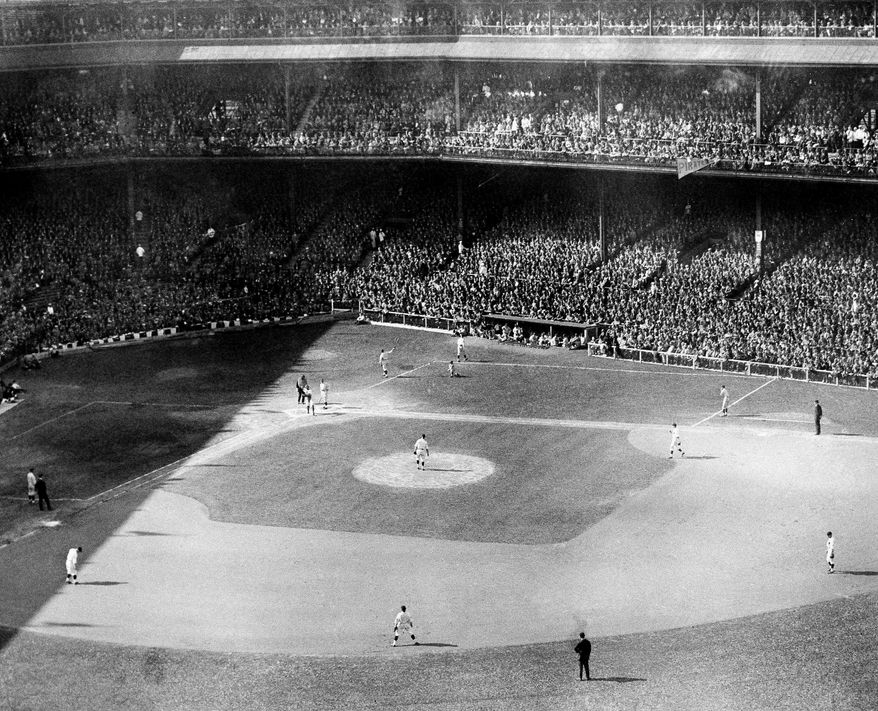 13. Pittsburgh Pirates vs. Washington Senators: 1925 World Series - Pittsburgh Pirates won in 7 games  Shown in photo is a general view of World Series first game in 1925. (AP Photo)