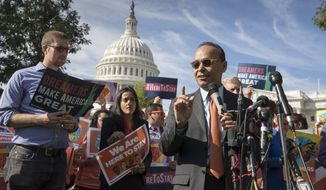 Congressional Democrats such as Rep. Luis V. Gutierrez of Illinois say they still see willing partners among some Republicans on immigration reform. (Associated Press/File)