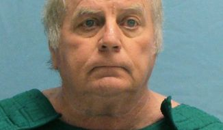 FILE - This undated file photo provided by the Pulaski County Sheriffs Office shows former Arkansas district judge Joseph Boeckmann.   Boeckmann pleaded guilty Thursday, Oct. 5, 2017, to wire fraud and witness tampering and faces around 2½-3 years in prison, though a federal judge could impose a shorter or longer sentence. Boeckmann admitted giving lighter sentences to defendants in return for nude photographs and sexual favors.(Pulaski County Sheriffs Office via AP, File)